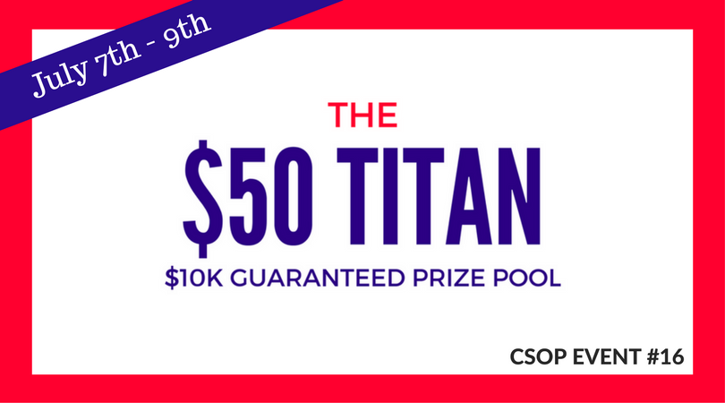 $50 Titan Tournament
