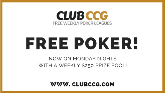 ClubCCG Free Poker Nights