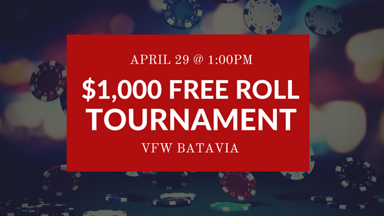 April 29 Free Roll Tournament