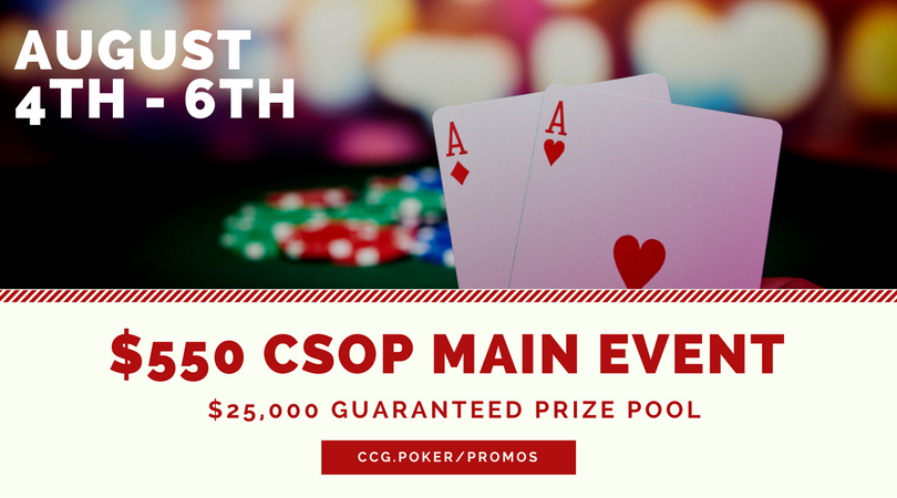 CSOP Main Event Tournament
