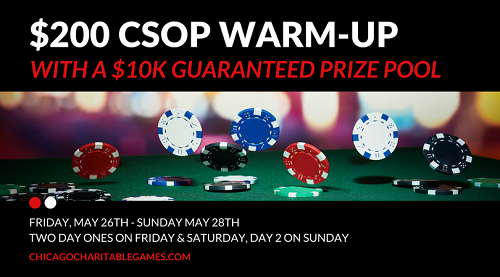 CSOP Warm Up in May