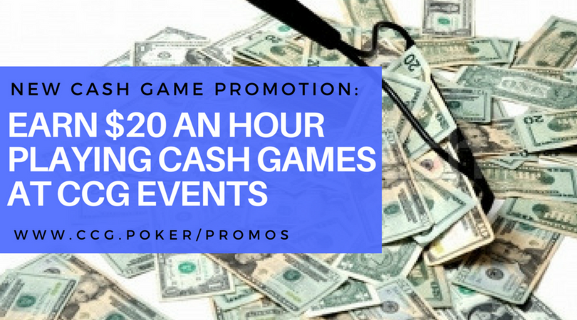 Earn $20 an Hour at Cash Games