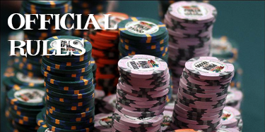Official Charity Poker Rules