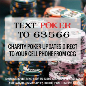 Text POKER to 63566