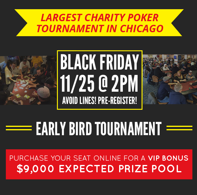 Black Friday Early Bird at Chicago Charitable Games