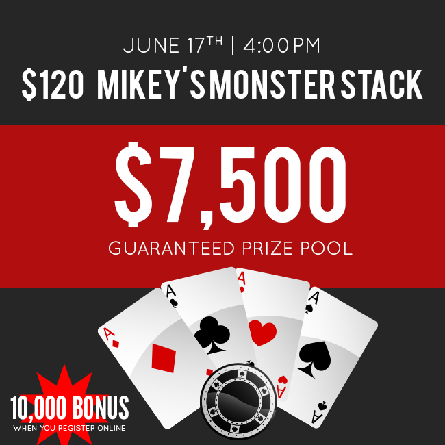 $120 Mikey's Monster Stack