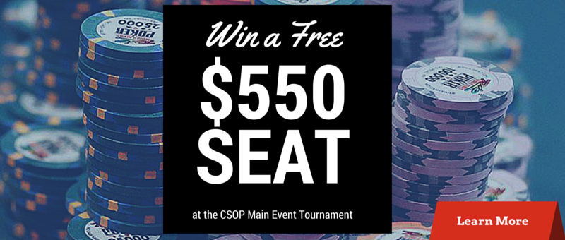CSOP Main Event High Hand Giveaway