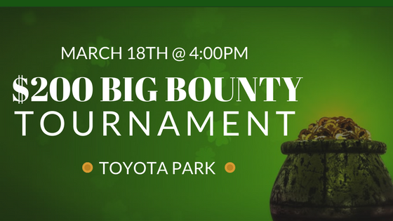$200 BIG BOUNTY Tournament