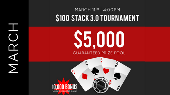 March Stack 3.0 Tournament