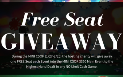 FREE Seat Giveaway!
