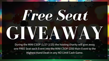 Free Seat Giveaway - CCG