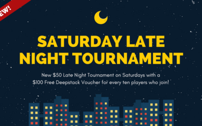 *The Day Saver!* Saturday $50 Late Night w/ $100 seats added