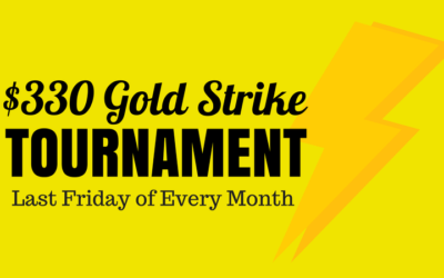 The GOLDSTRIKE Single Table Tournament