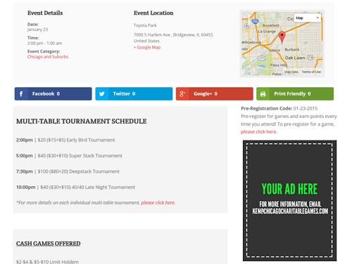 Online Poker Advertising Chicago