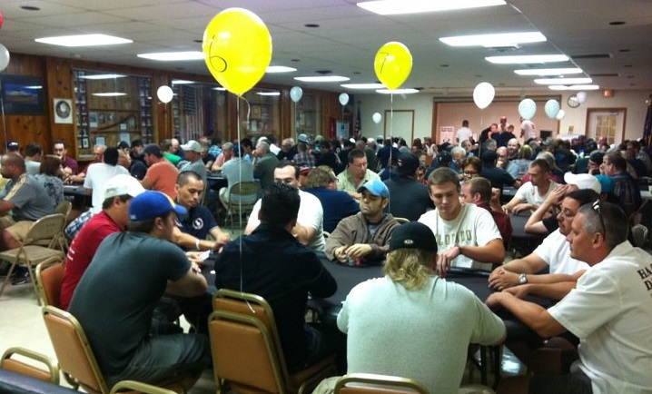 Charity Poker Tournament Balloons