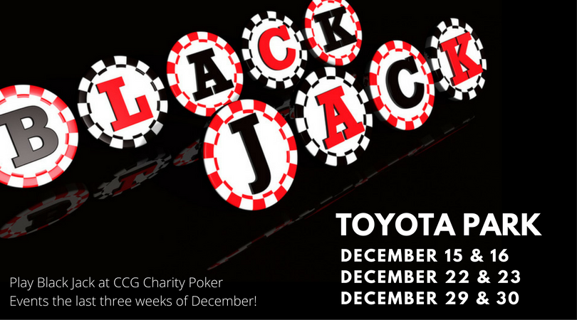 Black Jack at CCG Charity Events