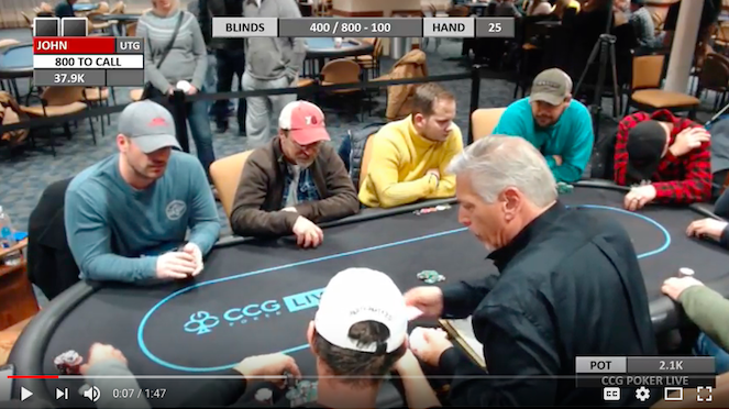 CCG Poker LIVE: The BIG ONE… our 1st attempt at Live Poker!