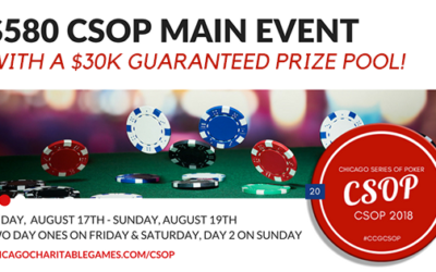 2018 CSOP $580 Main Event Tournament