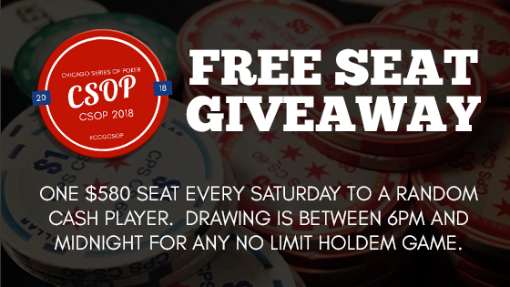 Do you want to play the 2018 CSOP $580 Main Event for FREE?