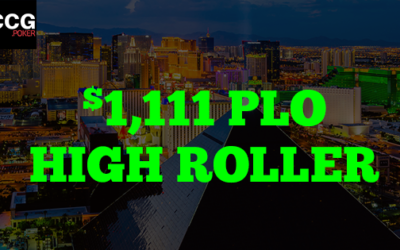 CSOP Event: $1,111 PLO High Roller