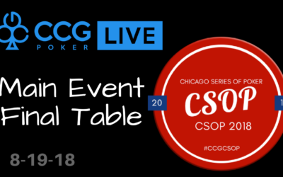2018 CSOP Main Event Final Table – Enjoy The Final 7!