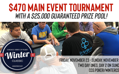2018 Winter CSOP $470 Main Event Tournament
