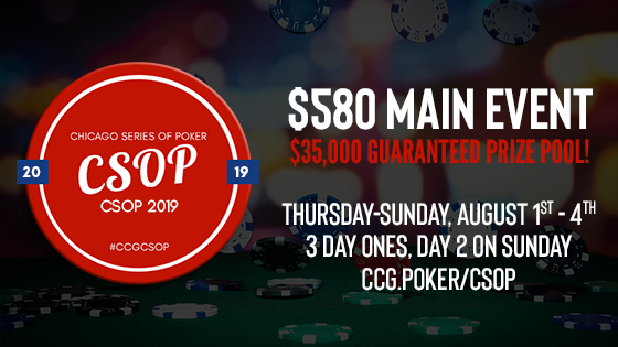 $580 CSOP Main Event Tournament