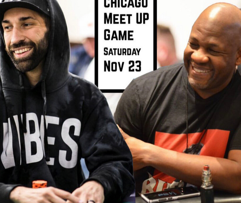 Johnnie Vibes & Jaman Burton Meet UP Cash Game