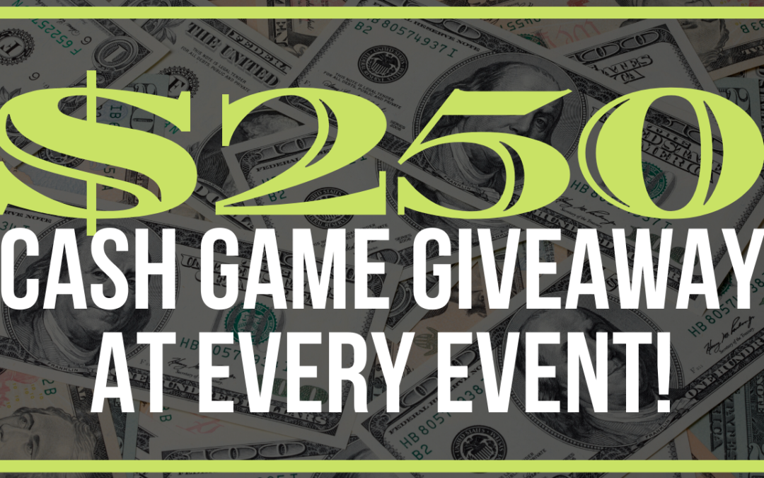 $250 Cash Game Giveaway