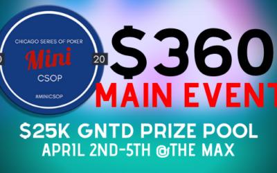 2020 Mini CSOP Main Event