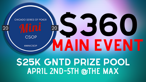 2020 Mini CSOP Main Event
