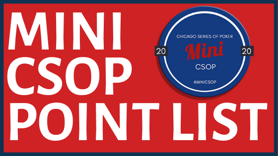2020 Mini CSOP Points List