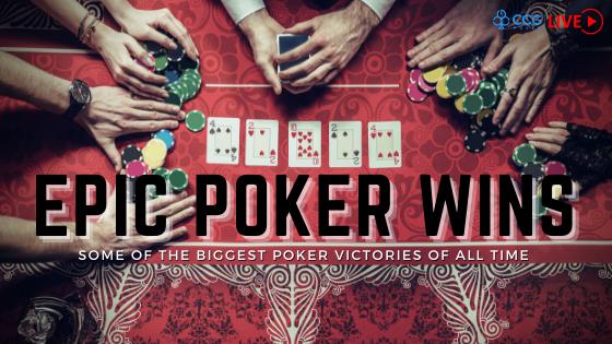Epic poker wins